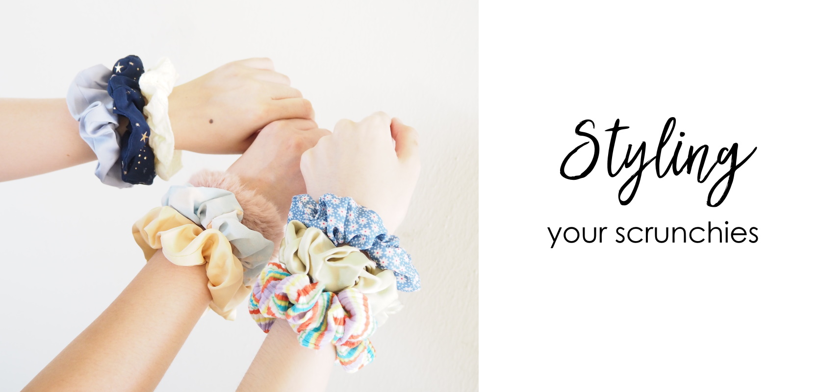 Styling Your Scrunchies