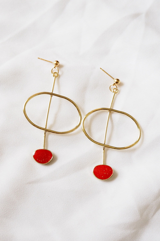 Eos Earstuds (Red)