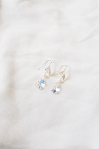 Leaf Hook Earrings