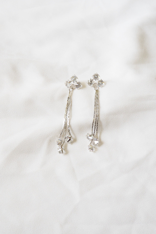 Sparkly Earstuds (Silver)