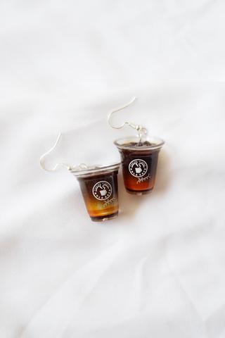 Iced Coffee Earrings