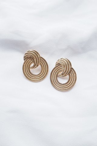 Entwine Earstuds (Gold)