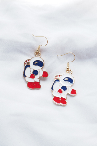 Fat Astronaut Earrings