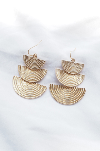 Arista Earrings (Gold)