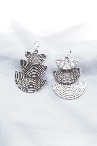 Arista Earrings (Silver)