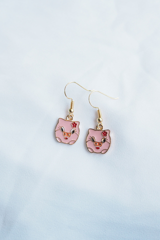 Pig Earrings (A)