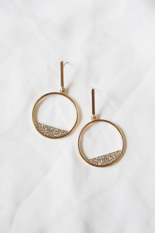 Sparkly Dangle Earstuds