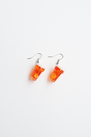 Ice Lemon Tea Earrings