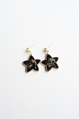 Starry Night Earstuds (Black)