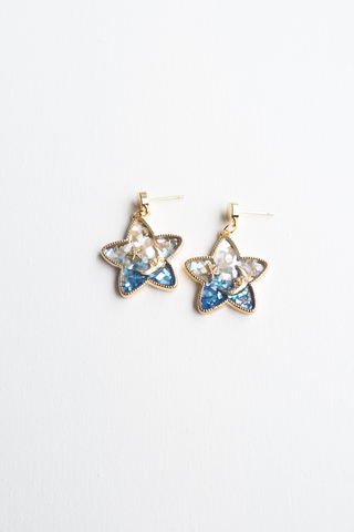 Starry Night Earstuds (Blue)