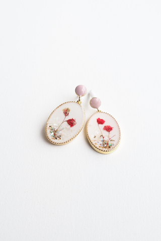 Polly Earstuds (Pink)