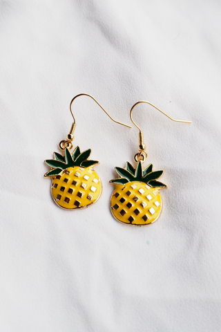 Fat Pineapple Earrings