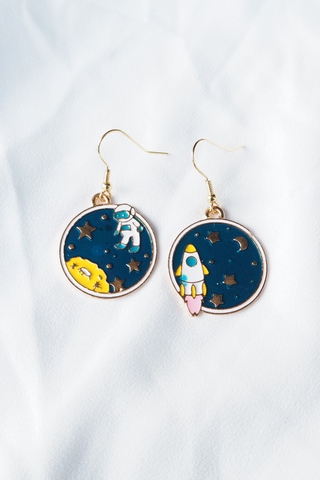 Outerspace Earrings