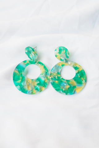 Renee Earstuds (Green)