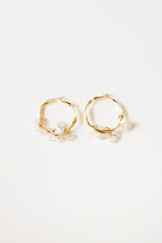 Patricia Crystal Hoops