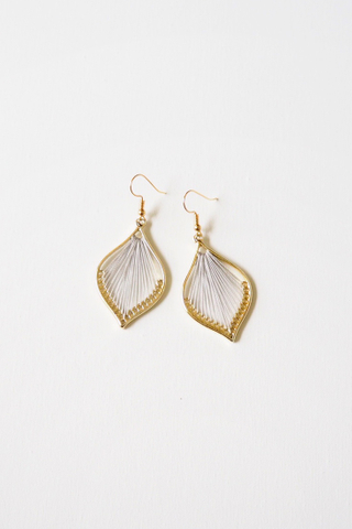 Cory Earrings (Grey)
