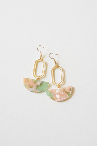 Rino Earrings (Pastel)