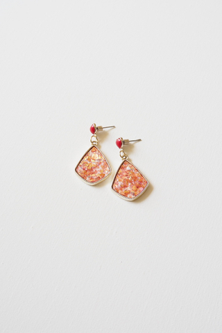 Felicity Earstuds (Orange)