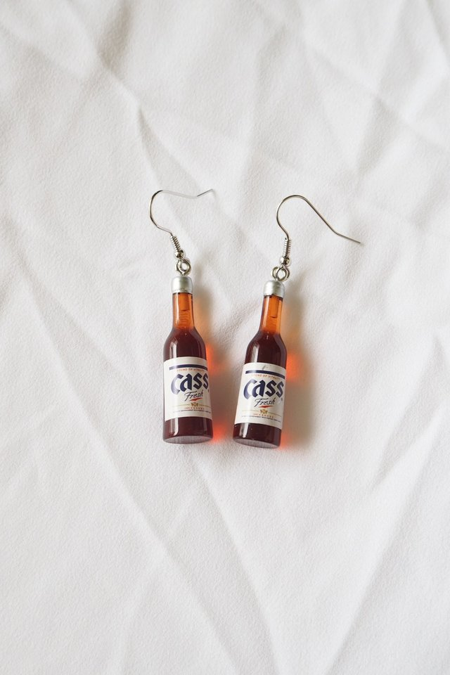 Cass Beer Earrings