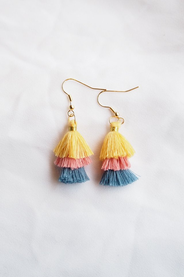 Mini Tassel Earrings (Spring)
