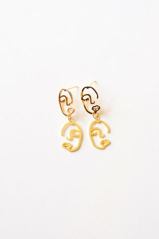 Two Faced Earstuds