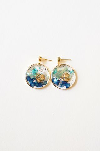 Under The Sea Earstuds (Dark)