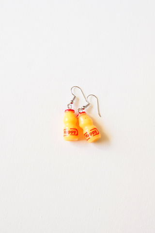 Cultured Milk Earrings