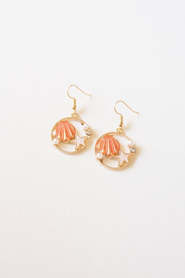 Seaside Earrings (Pink)