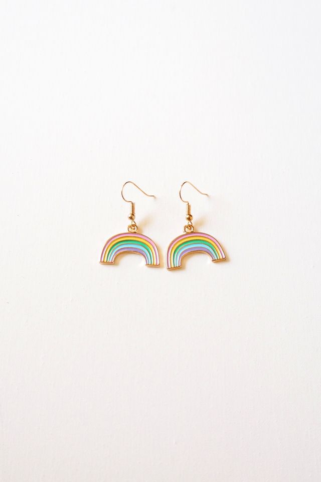 Mini Rainbow Earrings