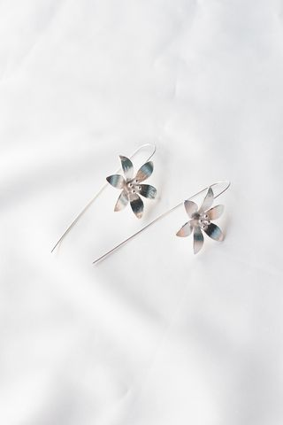 Windflower Hook Earrings
