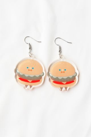 Hamburger Earrings