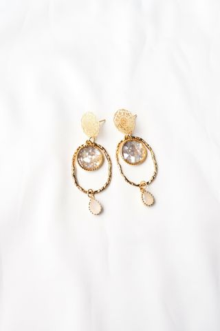 Brielle Seashell Earstuds