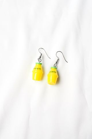 Banana Milk Earrings