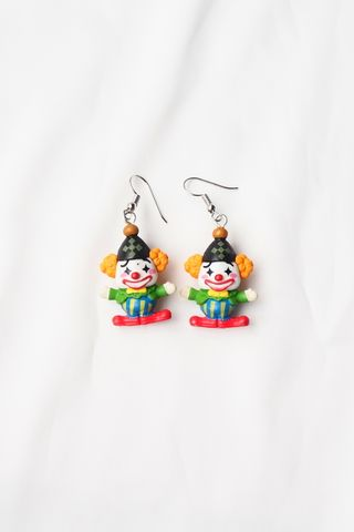 Clown Earrings (A)