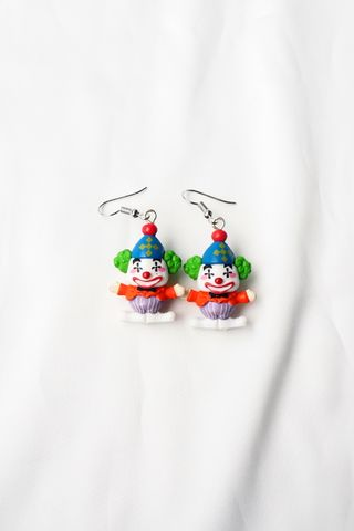 Clown Earrings (D)