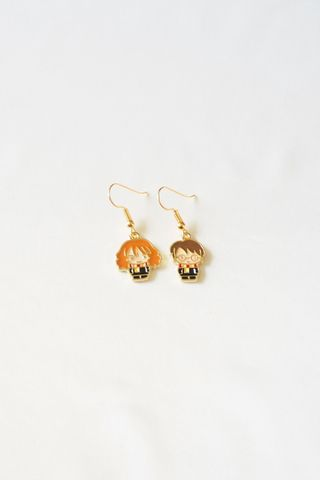 Harry & Hermione Earrings