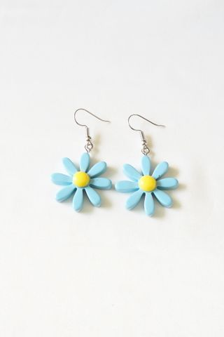 Daisy Earrings (Blue)