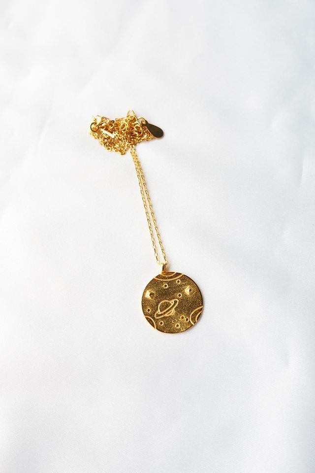 Outerspace Necklace (Gold)