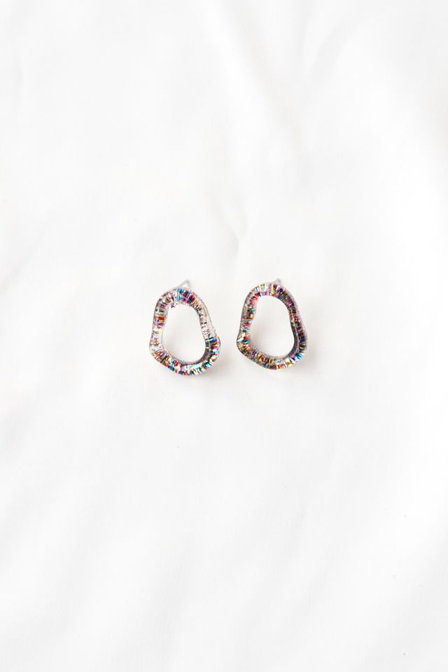 Mini Glitter Earstuds (Multi)