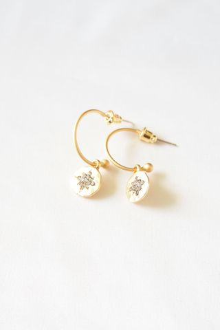 Sparkle Mini Hoops