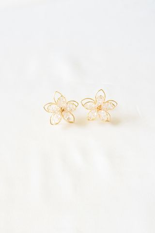 Stelly Flower Earstuds
