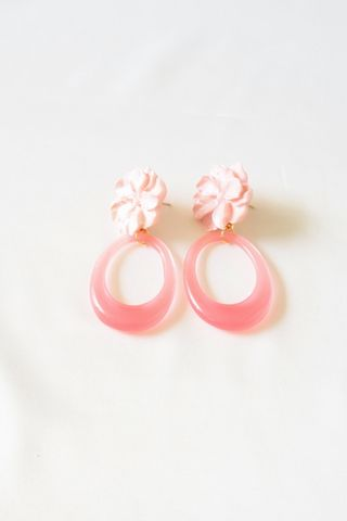 Flower Pop Earstuds (Pink)