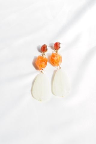 Naila Earstuds (Orange)