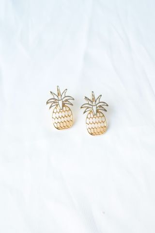 Pineapple Cutout Earstuds