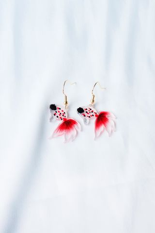 Goldfish Earrings (B)