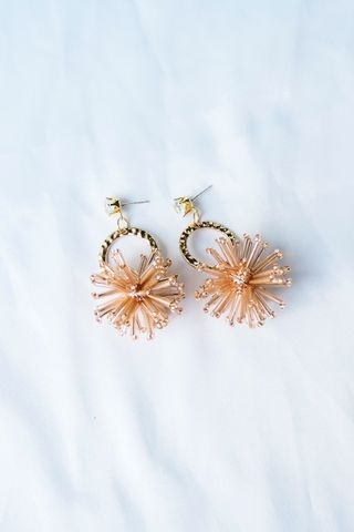 Fire Cracker Earstuds (Champagne)