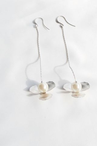 Matte Flower Earrings