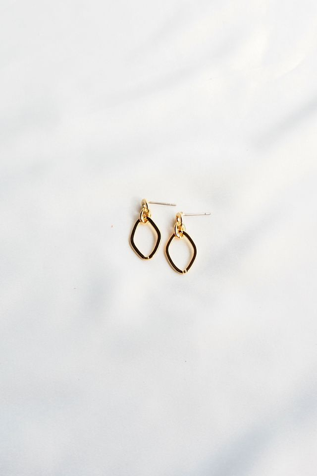 Mini Link Earstuds (Gold)