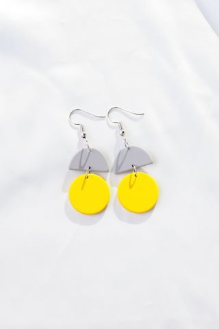 Sooj Earrings (Yellow)