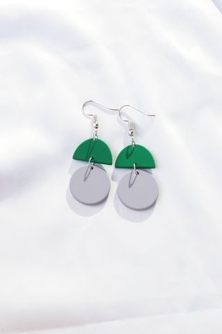 Sooj Earrings (Grey)